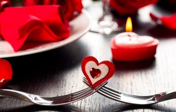 Menú para el día del amor y la amistad